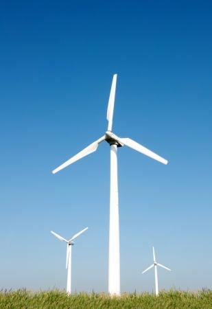 Wind turbines Stock Photo - 24015201