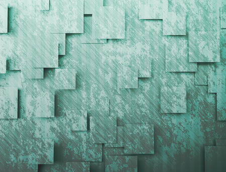 Different geometric square and rectangle textured patterns photo