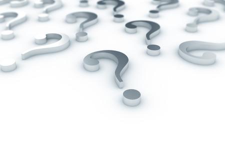 signo de interrogacion: Pregunta de metal marca de fondo Foto de archivo