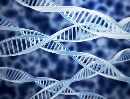 genome: DNA spirals