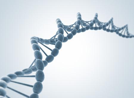 Haute résolution 3D render de chaîne de l'ADN humain Banque d'images - 31766364