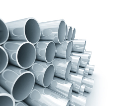 Close up image of plastic tubes