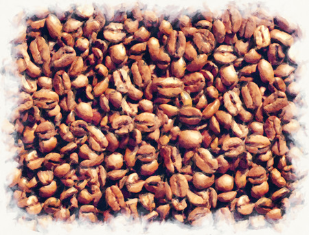 cofee: Cofee beans background