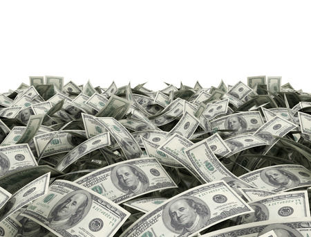 factura: Fondo del dinero con área de espacio de copia en blanco Foto de archivo