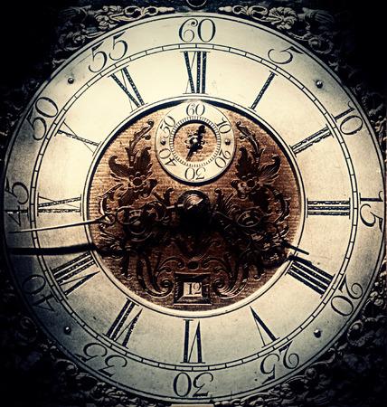 orologi antichi: Old RETROclock avvertire sfondo