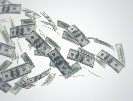 dinero volando: El flujo de dinero