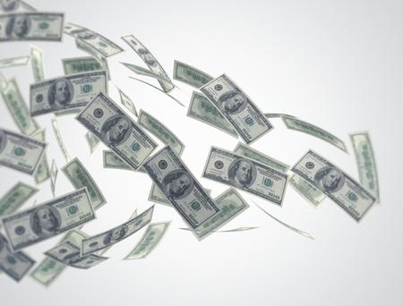 pieniądze: Przepływ pieniędzy Zdjęcie Seryjne