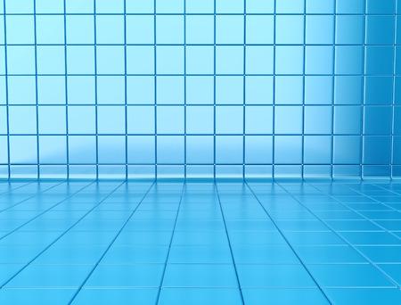 tiled: Blue Tiled Background Stock Photo