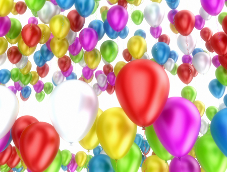 bunch: Bunch of colorfull balloons