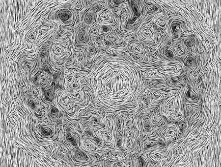 scrawl: Imagen abstracta - textura a la de Vincent van Gogh