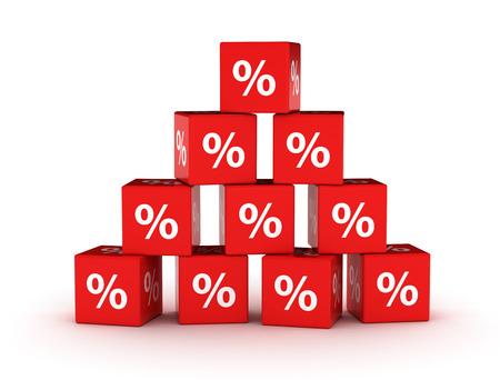 percentage sign: Percentage sign discount design background Stock Photo