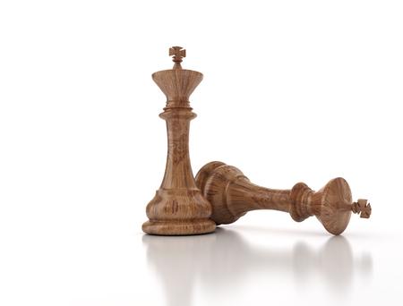battle plan: Winning chess piece - Business conceptual image