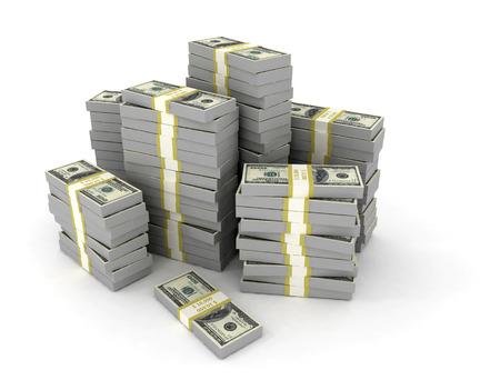 multiple: finance money background big stack of us dollars Stock Photo