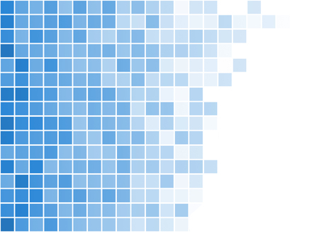 grid: abstract square pixel mosaic background Stock Photo