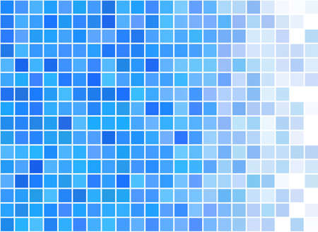 Blue and white pixels design pattern