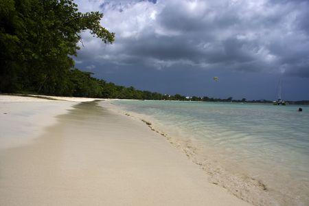indies:  Negril Coast, west Jamaica, Caribbean Stock Photo