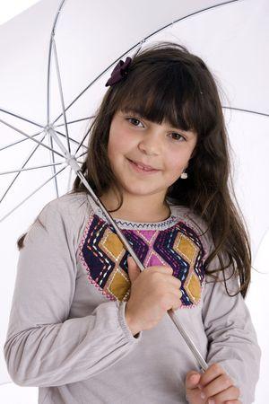 girl with umbrella Stock Photo - 6657258