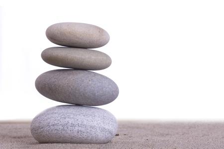 karesansui: sand stones