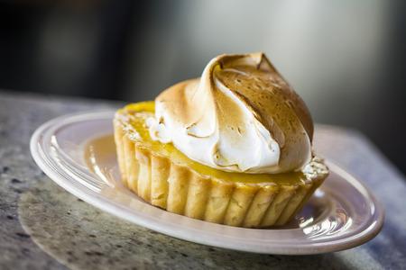 pie de limon: Tarta de limón merengue