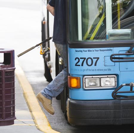 Boarding a Bus 에디토리얼