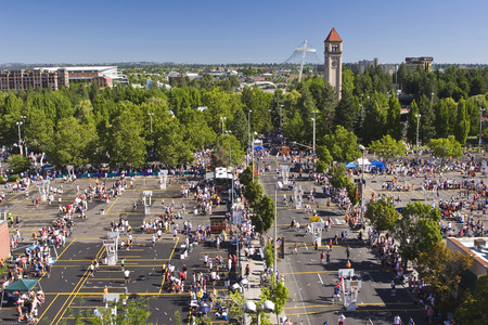 Hoopfest Three on Three Basketball Tournament Spokane WA