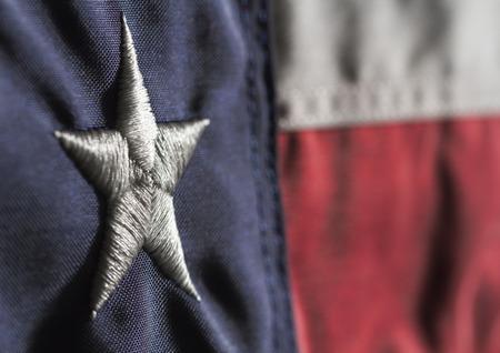 Bandera del Estado de Texas Foto de archivo - 32023983