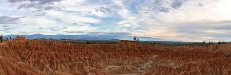 panorama of the Tatacoa desert