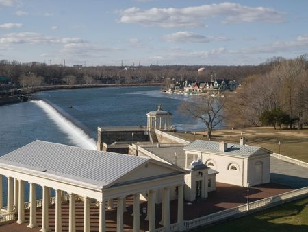 boathouse: Boathouse Row, Philadelphia