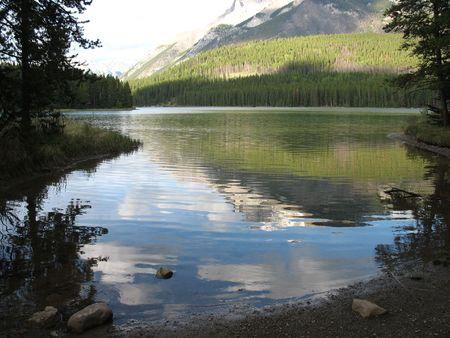 Lake in the Mountains Archivio Fotografico