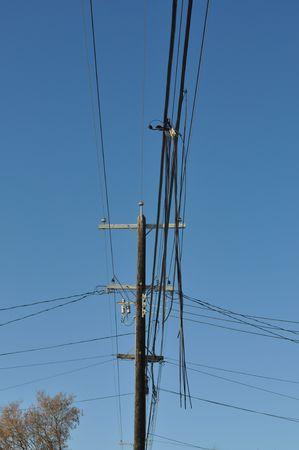 kracht: Kracht & telefoon lijnen