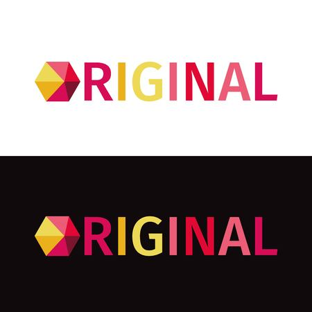web site: Abstract colorful logo,Identity for company, web site logotype and much more. Geometric low polygon style.