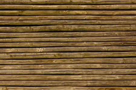 palisade: Close up of brown lath fence