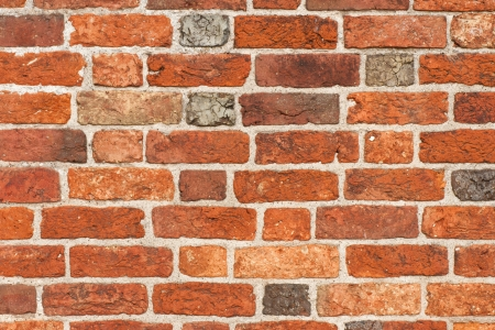 middle ages: church brick wall from the middle ages Stock Photo