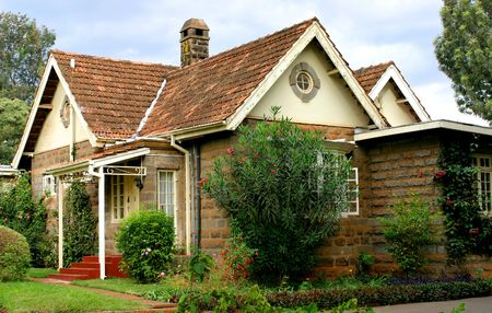 Quaint Cottage in Kenya Stock Photo - 351402