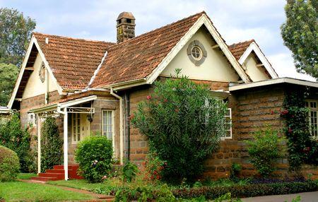 Quaint Cottage in Kenya Stock Photo - 351402