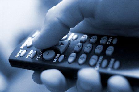 chose: Blue Toned Remote Control