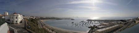 Panoramic of Sines, Portugal photo