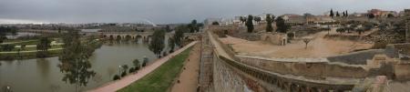 fortification: Merida Muslim Fortification Panoramic