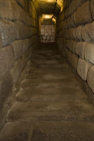 cisterna: Escaleras Corredor de la cisterna
