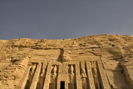 Queen Nefertari temple photo