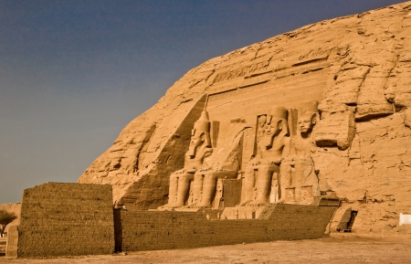Abu Simbel right outside photo
