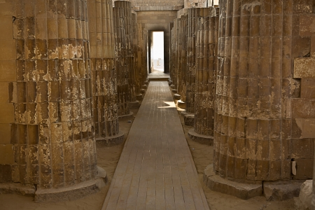 Saqqara temple photo