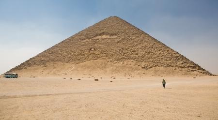 pyramid peak: Walking by the Red Pyramid