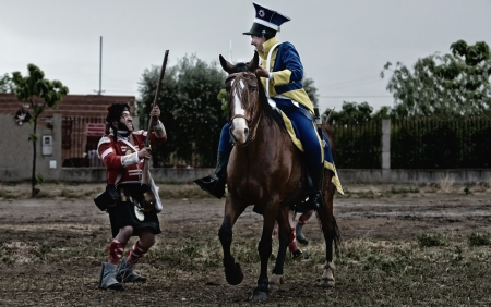 cavalry: Fight against the cavalry
