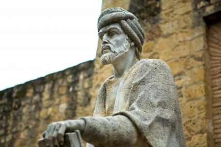 jewry: Statue of the philosopher Averroes in Cordoba,  Spain