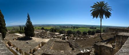 caliphate: Panoramic overview of Medina Azahara  Madinat al-Zahra , Near Cordoba, Andalusia, Spain