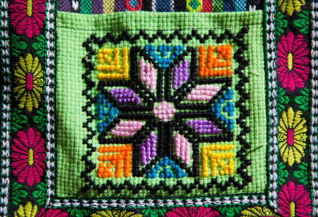 craftwork: Colorful patterns on fabrics from andean  craftwork