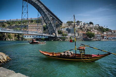 rabelo: Porto City, rebelo Boats In The River Douro