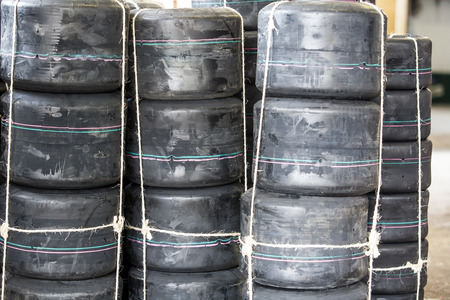 loads: Loads of new karts wheels tires unpacked