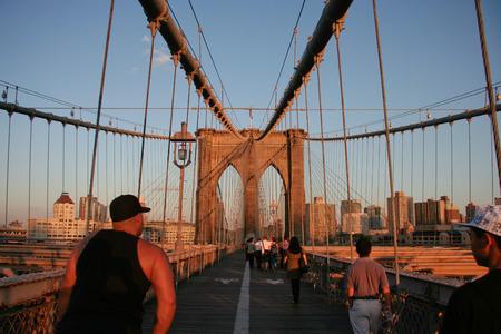 june 25: NEW YORK - JUN 25: Old ships at tower Manhattan in South Street Seaport, June 25, 2008 in New York Editorial